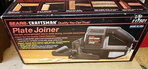 Craftsman Dustless Plate Joiner Double Insulated Model 917501 Original Box Used