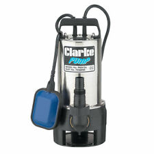 Clarke Acero Bomba Sumergible Agua Sucia. velocidad máxima de 258 L/min, 900W, pssv 2A