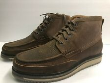 Ariat Lookout Men's 11 Wide Chukka Earth Stone Suede Soft Toe Moc Boot