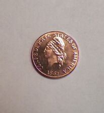 1861 Confederate States of America One Cent Restrike Coin token Fantasy