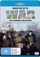 When We Go To War (Blu-ray, 2017, 2-Disc Set) The Ultimate Collection New