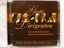 Tchibo Klassik Doppel-CD - Große Dirigenten, 2 CDs, neu, 18 Stücke