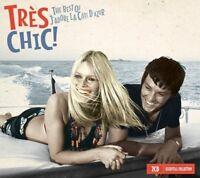 BEST OF TRES CHIC- ANNA KARINA,BARBARA,SACHA DISTEL,MICHEL LEGRAND... 2 CD NEU