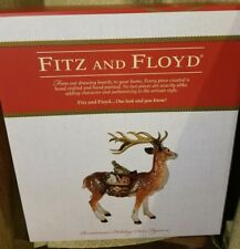 Fitz and Floyd 49-660 Renaissance Holiday Deer Figurine 2017 New in Box!