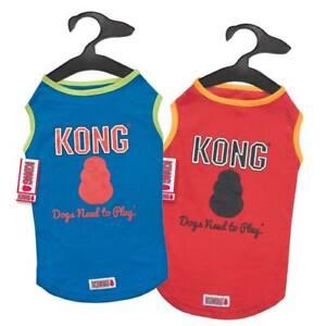 KONG DOG PUPPY RED ORANGE BLUE GREEN SPF 40 TANK TOP SHIRT XXS XS S M L XL NWT