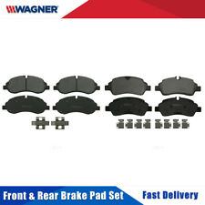 Front & Rear 8 PCS Wagner Disc Brake Pads Set For FORD TRANSIT-350 HD 2015-2017