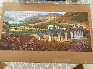 Gibsons Glenfinnan Viaduct 636 Jigsaw Puzzle Pristine (Harry Potter Viaduct)