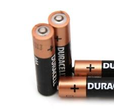 24 DURACELL AAA Alkaline Batteries - - - joblot battery bateries pack packet
