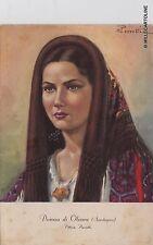 # OLIENA: DONNA DI OLIENA del pittore Perrotti  1951