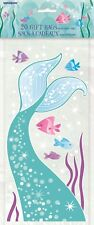Ocean Mermaid Girl Party 20 Cello Birthday Plastic Loot Lolly Treat Favour Bags