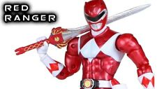 Power Rangers Legacy Metallic Red Ranger Action Figure, Limited (RARE)