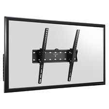 SLIM LED LCD TV STAFFA A PARETE Mount Tilt 32 37 40 42 46 50 55 pollici al plasma 3d VESA