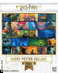 Harry Potter Collage 1000 Piece Puzzle 489mm x 676mm (nyp)