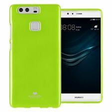 Cover custodia goospery jelly case mercury tpu qualità per Huawei P9 giallo