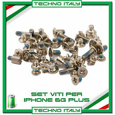 "Set VITI Completo per Apple iPhone 6 PLUS 5,5"" Kit Riparazione Ricambio"