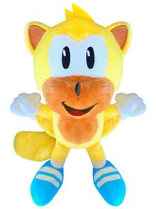 """CUSTOM Ray the Flying Squirrel Plush 8"""" Sonic Stuffed Doll Unofficial Toy NEW"""