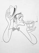 Jack Lemmon Printers Proof Lithograph Signed by Hirschfeld