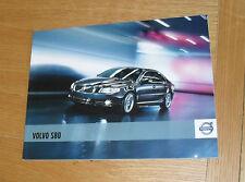 Volvo S80 Brochure 2010-2011 ES SE Lux Executive - 2.5T D3 D5 V8 AWD