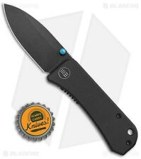 We Knife - Banter Liner Lock Knife Black G10 / S35VN Steel - Brand New In Box