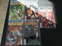 DC Comics 2016 DC Rebirth Deathstroke 5 issue lot 6-10 full run