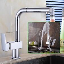 Küchenarmatur Ausziehbare Spültischarmatur Wasserhahn 360° Mischbatterie DMT Neu