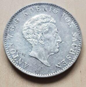 Sachsen, 1 Taler 1830  König Anton - Silber