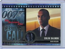 QUOTABLE JAMES BOND CASTING CALL COLIN SALMON AS ROBINSON IN DIE ANOTHER DAY C11