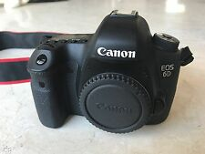 Canon EOS 6D 20.2MP Digital SLR Camera - Black (Body Only) (8035B002)