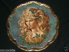 The Yellow Rose of Texas Plate by Irene Spencer Symphony of Roses 2901 1983