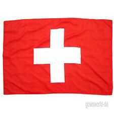 Fahne Schweiz Quer 90 x 150 cm schweizerische Hiss Flagge Nationalflagge WM 2018