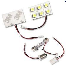 KIT ECLAIRAGE LED PUISSANT A 6 LED TRIPLE COEUR PEUGEOT 206 207 306 307 308 407