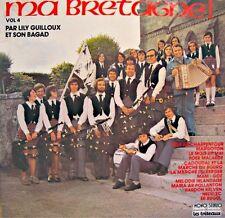 ++LILY GUILLOUX & SON BAGAD ma bretagne LP TRETEAUX son ar charpentour RARE EX++