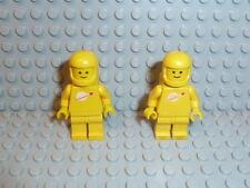 LEGO® Space Classic 2x Figur Astronaut gelb mit Airtank aus 6985 6971 6926 K422