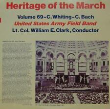 United States Army Field Band (VINYL LP) Heritage of the Mars: Volume 69-Ex/Presque comme neuf