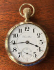 MINT CONDITION 21 Jewels Hamilton Adjusted Railroad GOLD Pocket Watch SERVICED!