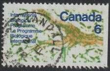 CANADA  1970  6c  Good Used with   ' CRANDALL ' cds    (p114)