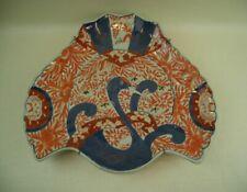 GRAND PLAT EN PORCELAINE IMARI DU JAPON XIXème EN FORME DE GRUE