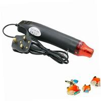 Yakamoz 300W Mini Heat Gun DIY Electric Nozzles Tool Hot Air Gun - Black