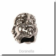 Authentic Trollbeads Sterling Silver 11120 Masks :1 RETIRED