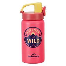 Kathmandu Kids Stainless Steel Sports Sipper Drink Water Bottle Pink