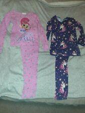 2 Pairs Of Pajamas Size 6/8