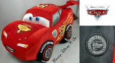 "Disney Store Exclusive CARS 2 Lightning Mcqueen 12"" Plush Toy Doll RARE WGP NEW"