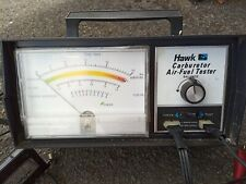 HAWK Cal Custom Exhaust Gas Analyser Air Fuel tester GWO with instructions