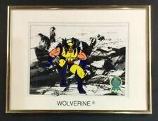 X-Men Fox Animated Series Wolverine Original Art Cel Ltd Ed Hand Painted Signed