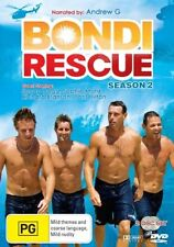 BONDI RESCUE SEASON 2 DVD=2 DISC SET=REGION 4 AUSTRALIAN RELEASE=NEW AND SEALED