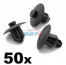 50x Plastic Rivet Trim Clips for Toyota & Lexus Wheel Arches, Inner Wing & Cowls