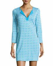 DIANE VON FURSTENBERG DVF $348 New Reina Two 100% Silk Shift Dress Size 8