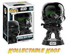 Funko Pop 10465 Star Wars Rogue One Imperial Death Trooper Chrome Bobble Toy