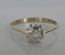 ☸ڿڰۣ- Magic 0,40 ct. Brillant aus 18kt 750 Gold mit Diamant Ring Solitär Diamond