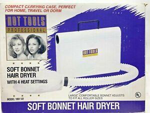 Hot Tools Professional Soft Bonnet Hair Dryer Model 1051V2 Vintage Used Works